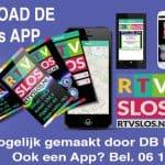 RTV Slos heeft nu ook een App