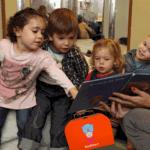 Laatste voorleesuurtje in bibliotheek Steenwijk op 1 april