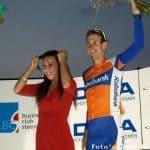 Bauke Mollema te zien in wielerspektakel