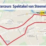 parcours Spektakel van Steenwijk 2015