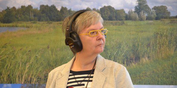 Ria van Hien vertegenwoordigt RTV SLOS bij Maïs en Stro
