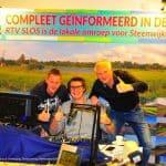Glazen Dorpshuis Steenwijkerwold brengt eerste dag ruim 1800 euro op