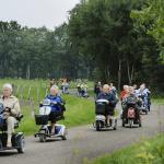 Jaarlijkse Scootmobieltocht in Steenwijk