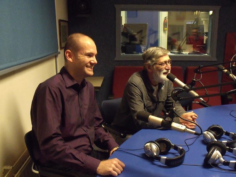 Brent Knol en Kees Verbeek