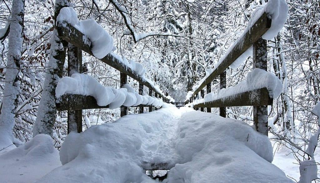 brug sneeuw