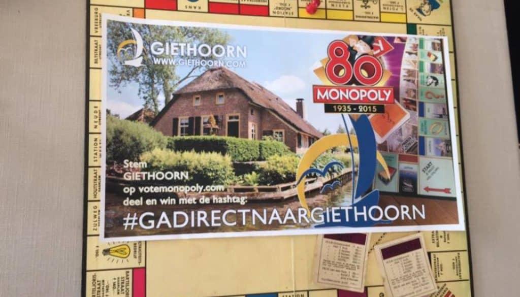 Giethoorn monopoly 2