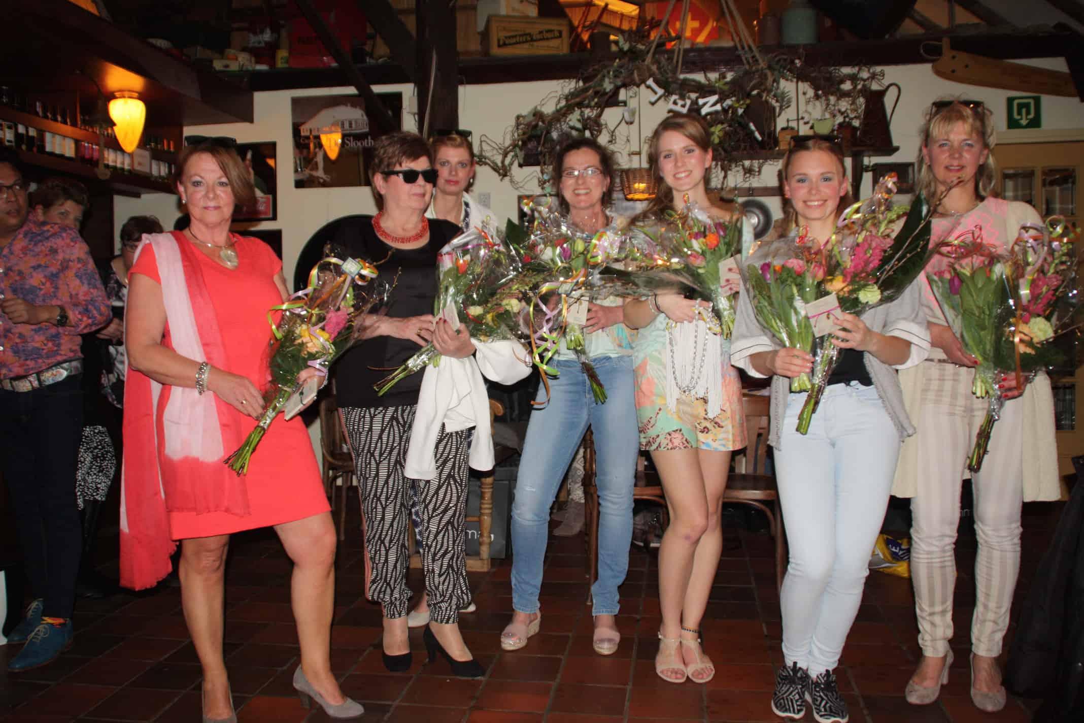 Modeshow Vrouwencafe Vitaal Giethoorn