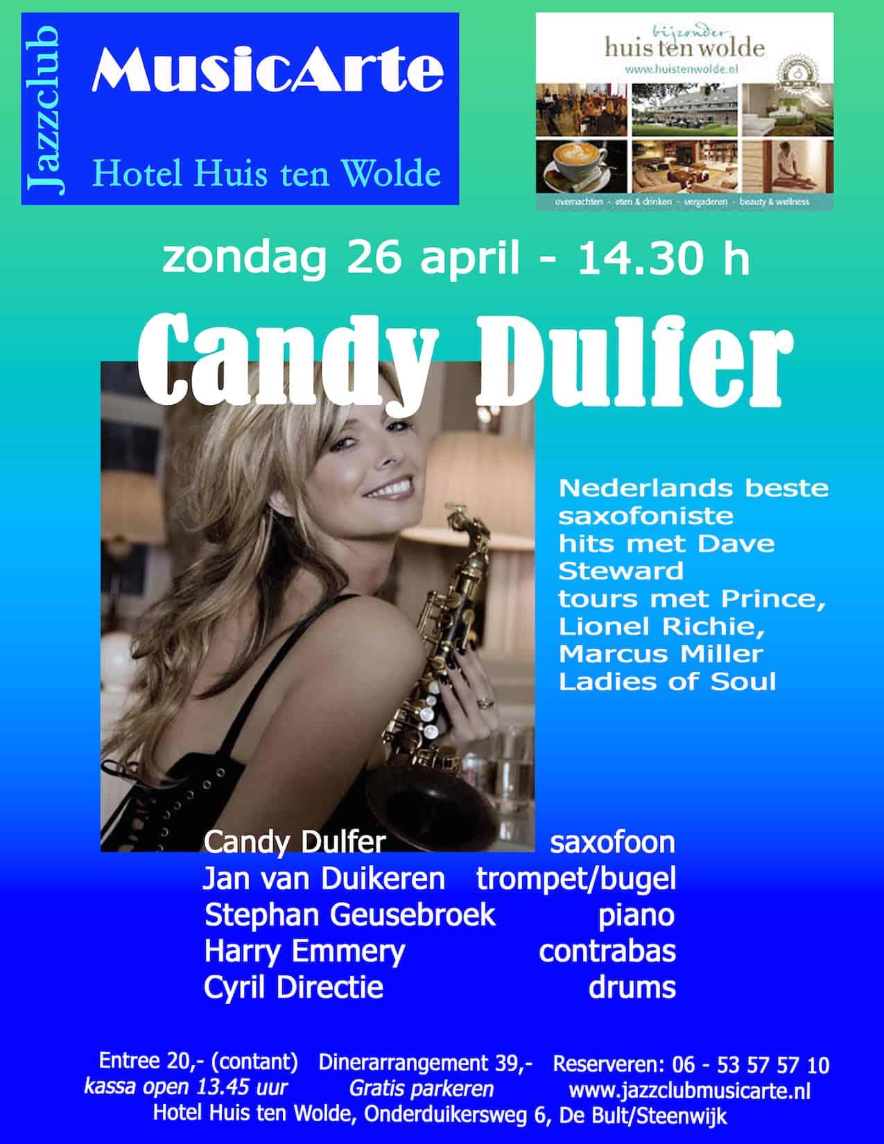 aankondiging Candy Dulferkopie