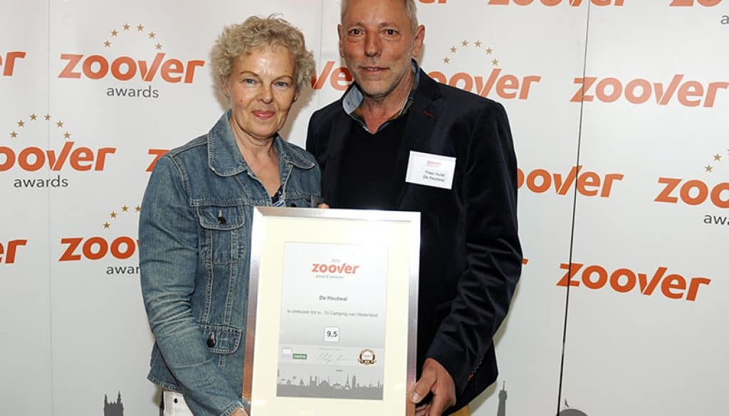 Camping de Houtwal Zoover awards