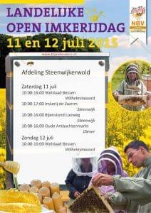 Poster Imkerijdagen 2015