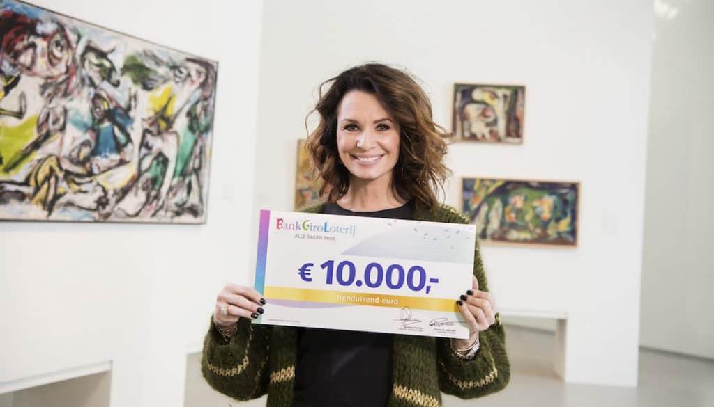 Stockfoto Leontine Borsato - 10.000 euro