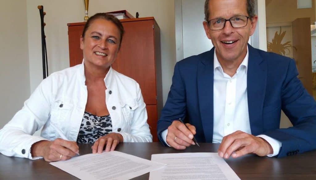 Wilma Boekwijt en Huub Rommers juli 2018