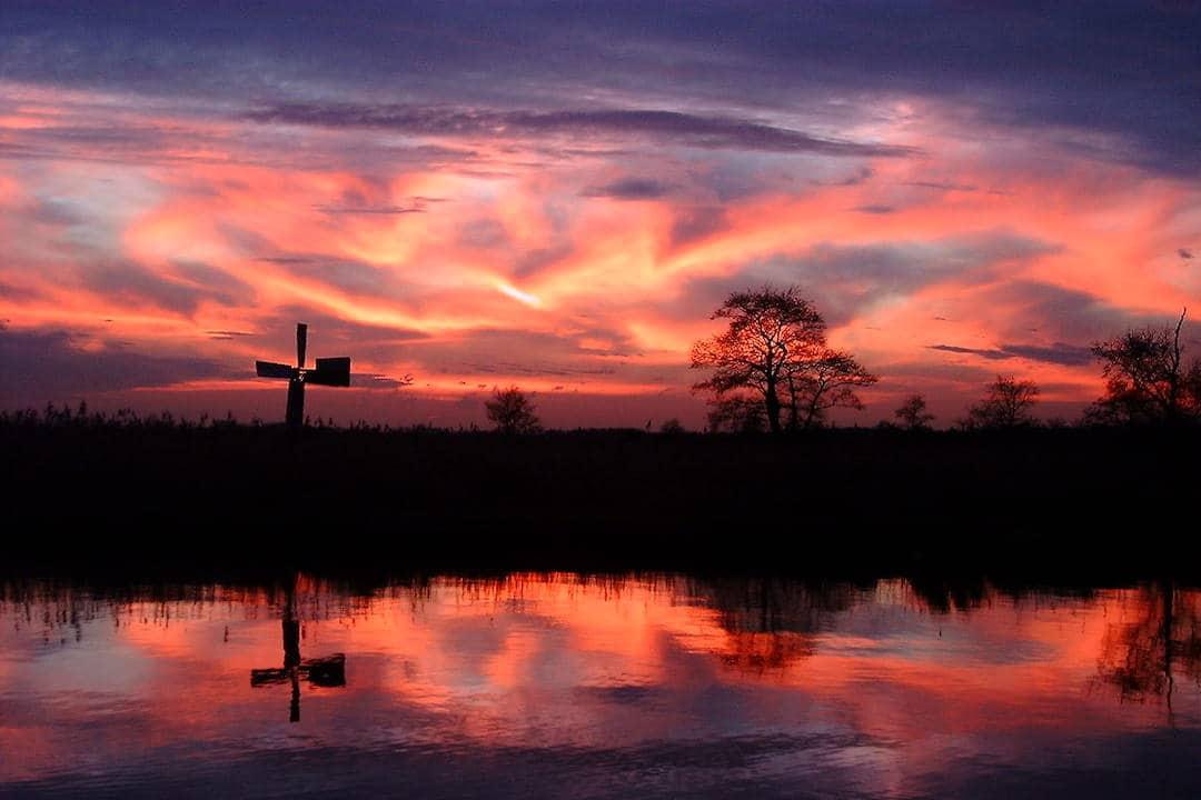 zonsondergangstocht foto 2