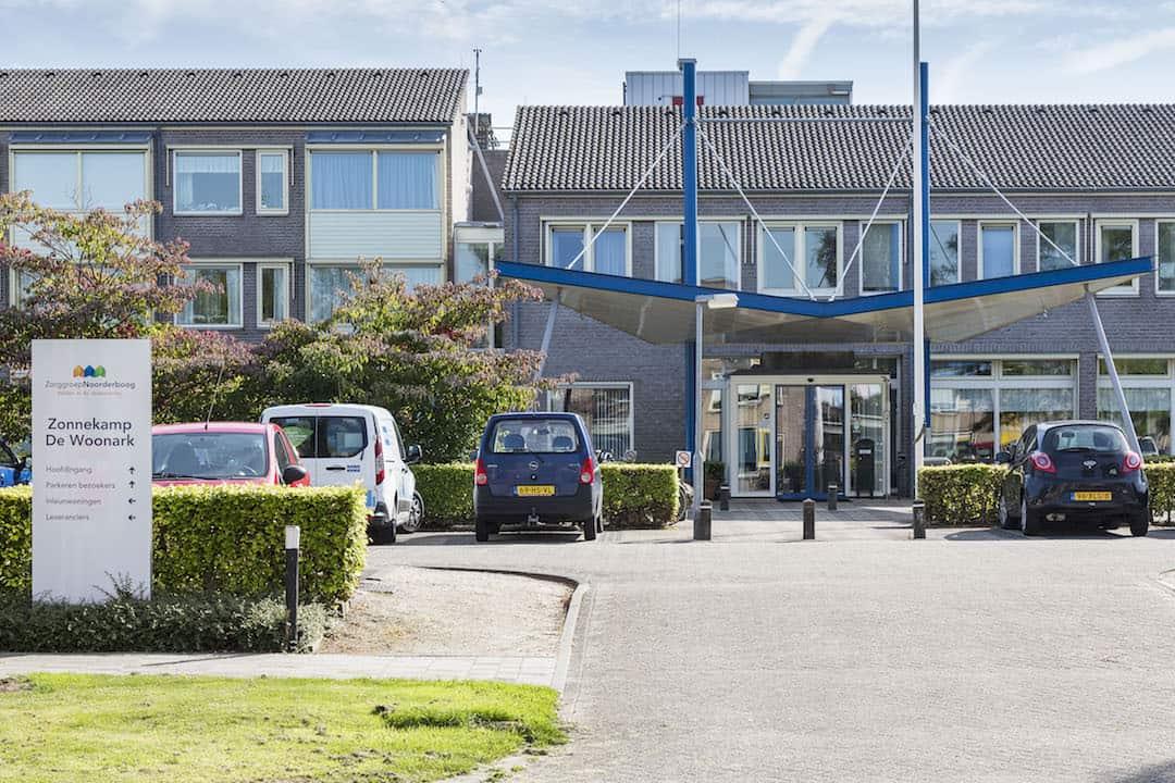 Zonnekamp aan de Oyershoeve 1 in Steenwijk.