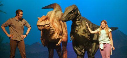Lex Tyrannosarus Rex Velociraptor Saartje (Michel van 't Ende Producties)_web