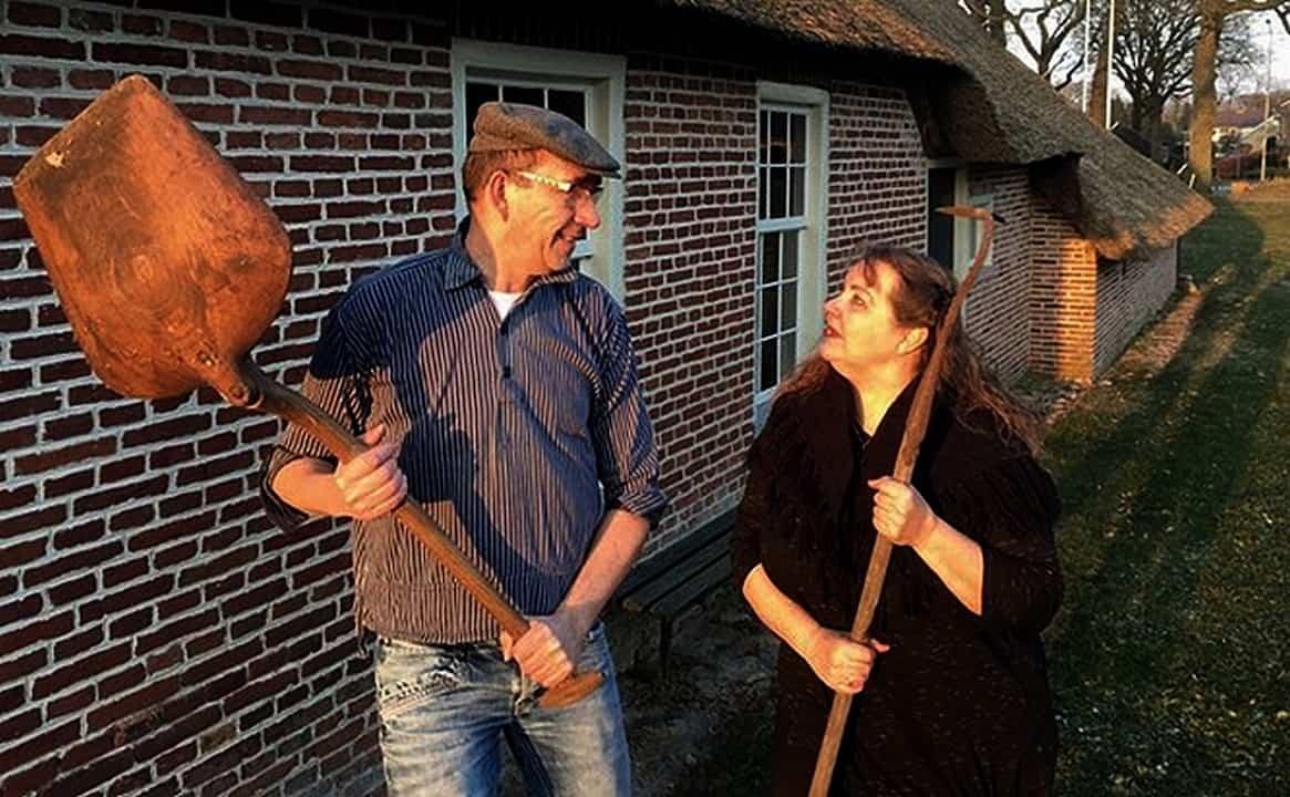 FOTO t Volk van Grada - VlechtTheater Noordwolde - za 30 mrt