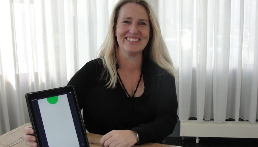 Logopedist Erna Andreae