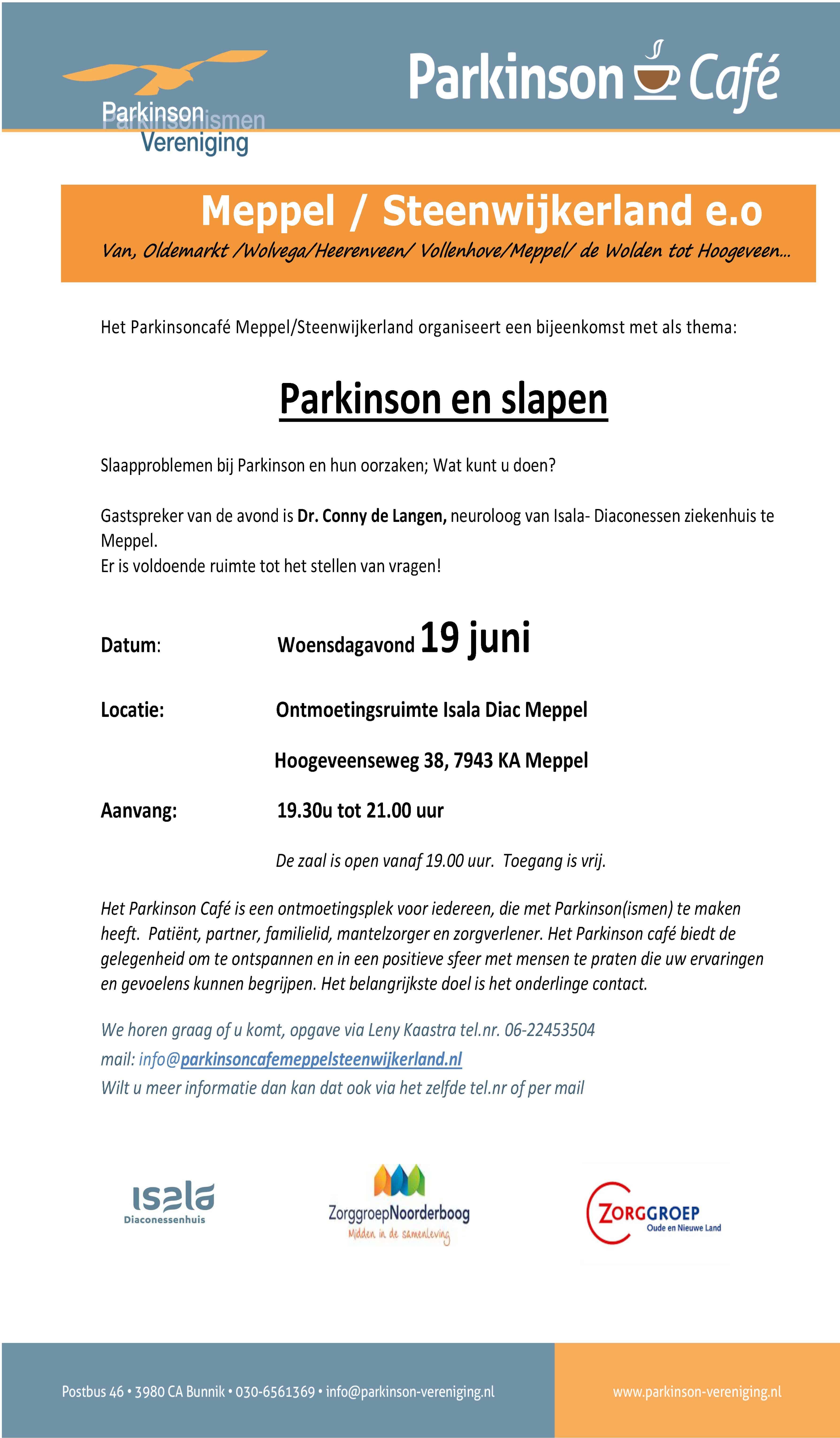 20190619 PC poster Parkinson en Slapen_Pagina_1