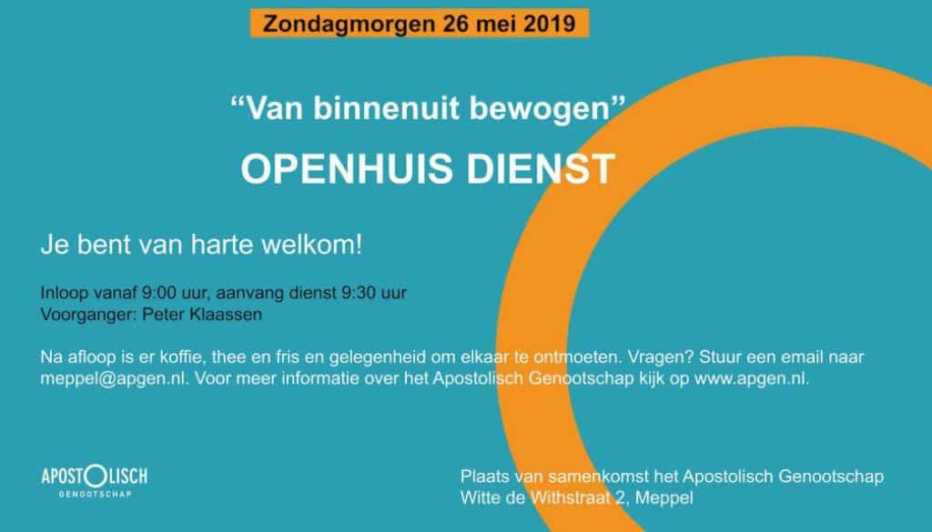 Flyer Apgen open dienst 26 mei