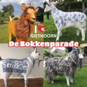 De Bokkenparade tovert de straten van Giethoorn om naar Bokken promenades!