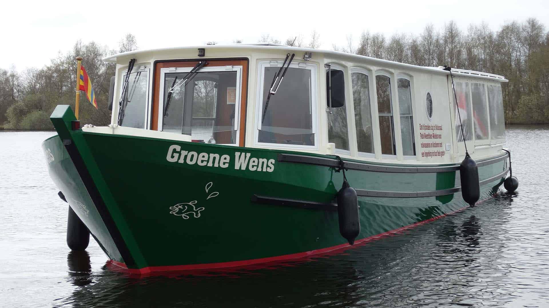 Groene Wens Boot