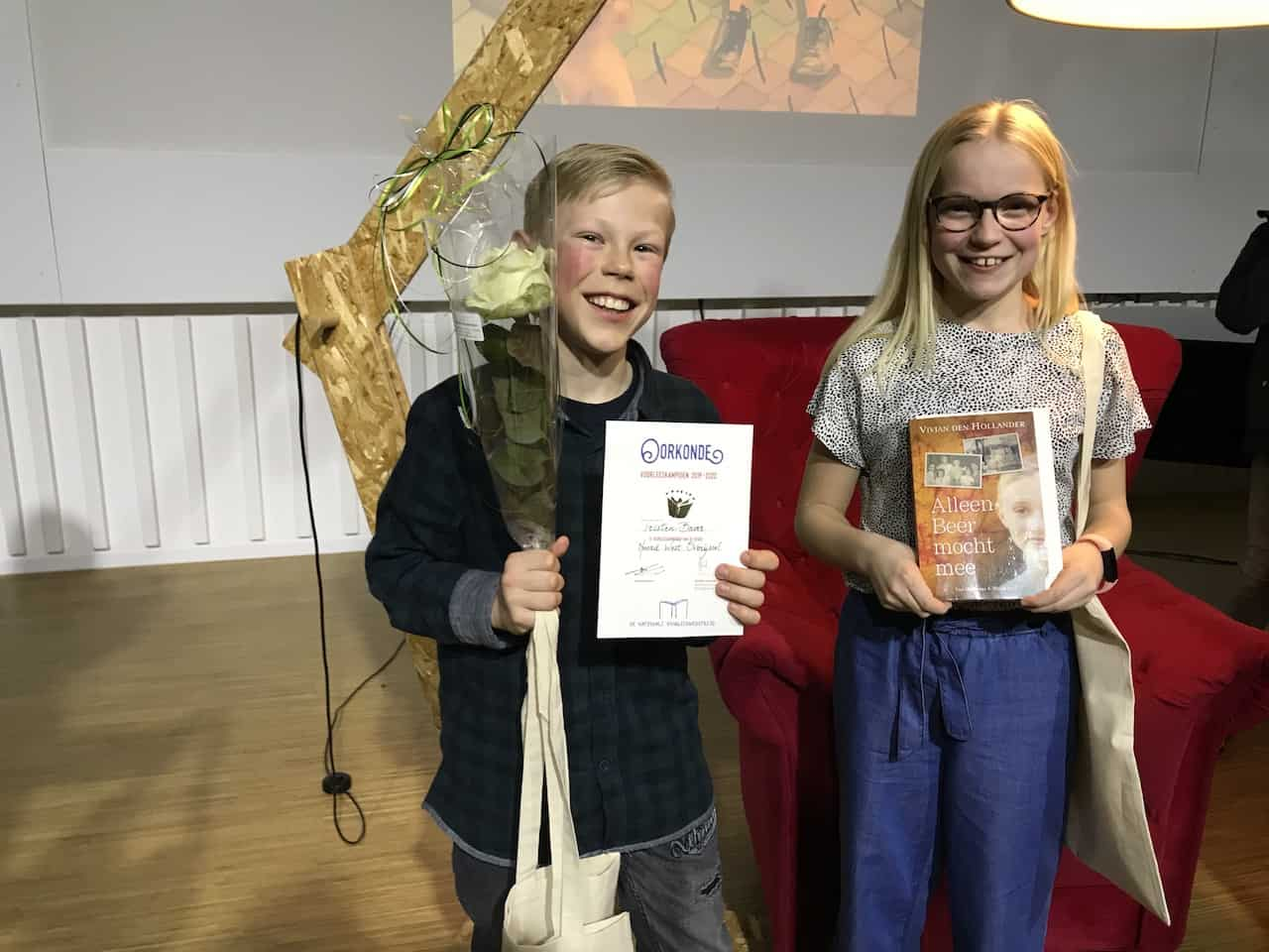 Meike en Tristen regiokampioenen