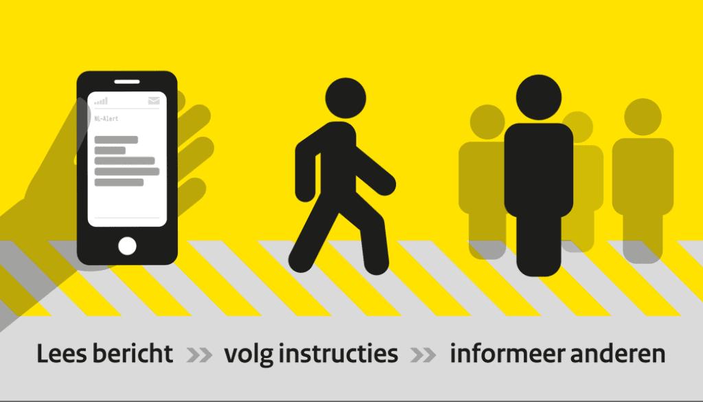 NL-Alert informeer anderen