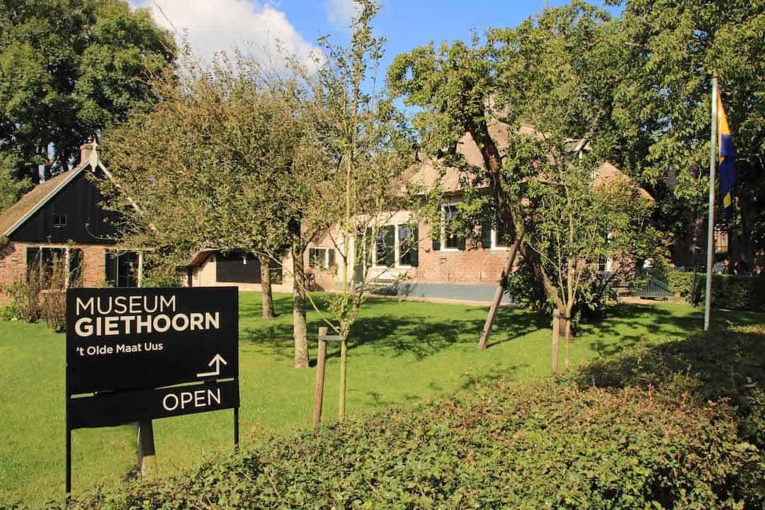 Foto bij persbericht Museum Giethoorn weer geopend