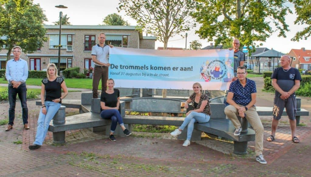 Foto Optrommelactie Steenwijkerwold
