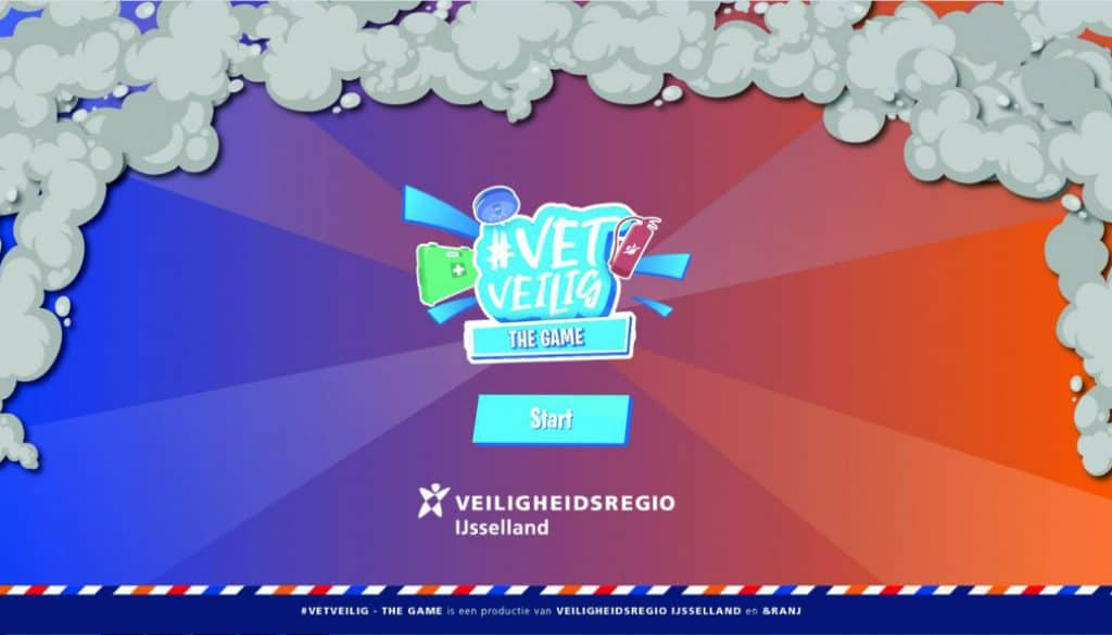 #VetVeilig the game