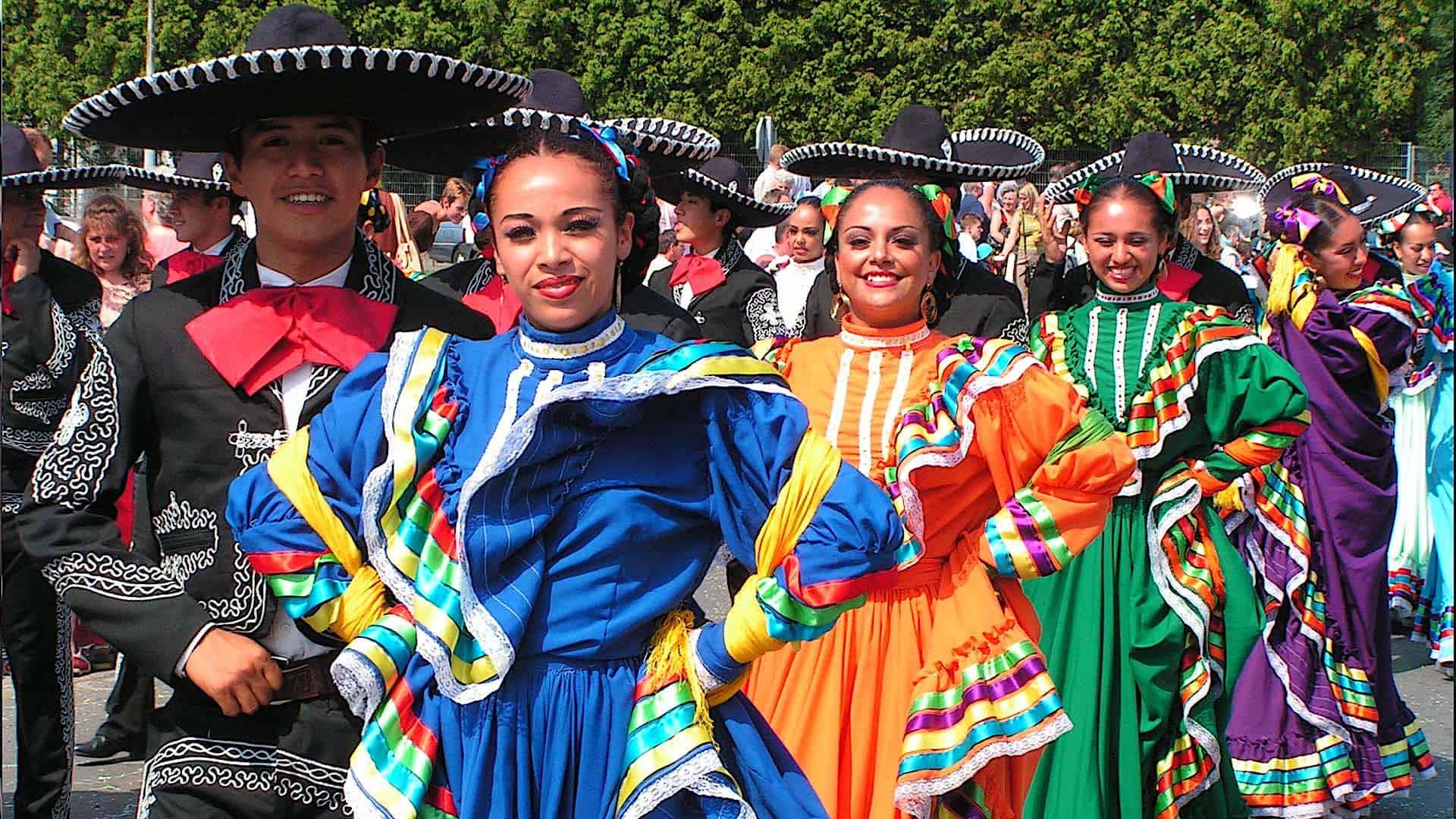 Mexicaanse dansgroep
