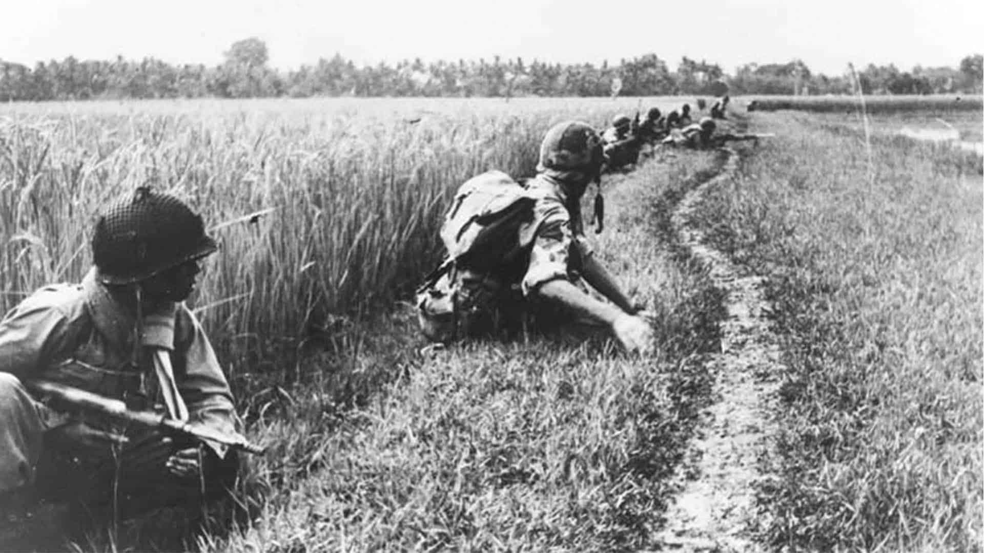 Nederlandse commando's vochten ook in Nederlands-Indië.