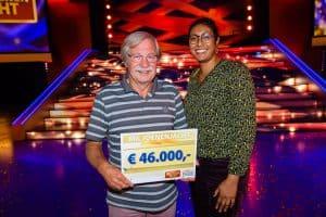 Chris uit Steenwijk wint 46.000 euro bij tv show Miljoenenjacht
