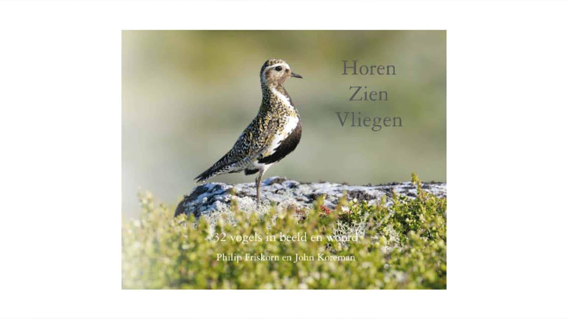 Cover Boek Horen Zien Vliegen